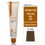 자연스러운 밝은 갈색 [6NB]